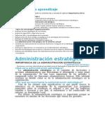 Capítulo 8 Administración Estratégica