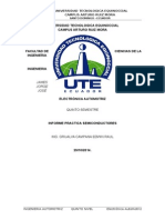 Formato Informe Especial de Inyeccion