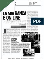 La mia banca è online (L'Espresso, 19-11-2009)