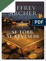 Archer Jeffrey-Se Több Se Kevesebb