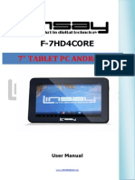 F-7HD4CORE MANUAL