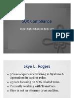 SOX Compliance Presentation