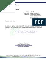 informe de termografias planta de vacunas