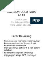Common Cold Pada Anak