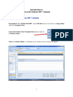 Outlook 2007 Calendar Tutorial