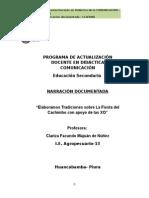 Narración Documentada-Versión Digital- CLAFAMA
