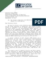 NJ ESEA Waiver Complaint USED Oct 15