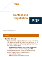 Conflict and Negotiation (Chap 15) 13727465