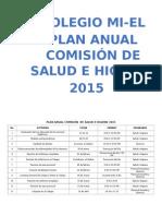 Comisión de Salud e Higiene 2015