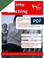 Step Into Coaching_Rainham School for Girls_150215_Flyer