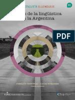 Rutas de La Lingüística en la Argentina