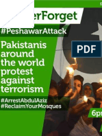 Pakistani Citizens Charter of Demands