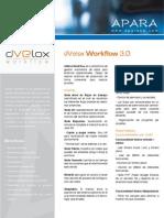 Dvelox Workflow Datasheet