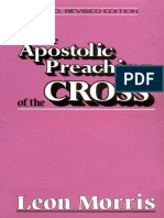 Apostolic Preaching of the Cross - Leon L. Morris