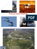 Forces Motion