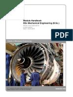 BSc-Mechanical Engineering Module Handbook 20131001 Plus(1)