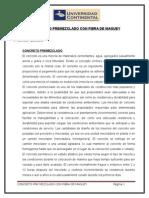 Informe Concreto Premezclado Con Fibra de Maguey