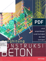Menghitung Konstruksi Beton Untuk Pengermbangan Rumah