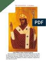 do tratado sobre a Trindade, de Santo Hilário - L das H - Vol_III_p_1187-1189