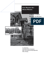 Fair Housing Act Design Manual - intro