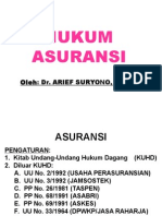 Hukum Asuransi 1. Ppt