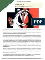 Brújula Estratégica » Blog Archive » La Contrainteligencia