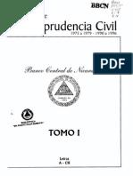 Referencias de Jurisprudencia Civil - Tomo i - Parte i