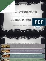 Cocina Internacional JAPON Emilia Zurita