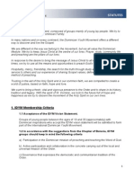 IDYM Statutes 2006