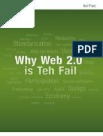 Why Web 2.0 is Teh Fail