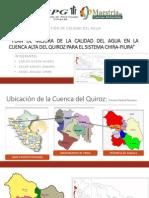 Gestión de la Calidad del Agua del Rio Quiroz - Piura