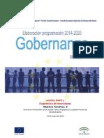 Doc. de Gobernanza 2014-2020. Análisis DAFO Pobreza y Exclusión Social