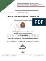 Bases Del Concurso de Proyectos XXII CONEIMERA