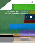 Orientações do TCU para Conselhos de Assistência Social .PDF