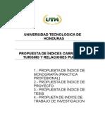 Indices de Trabajos de Graduacion Uth