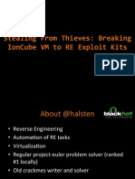 Bh Ad 12 Stealing From Thieves Saher Slides