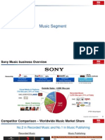 Sony Music Business Overview - SONY Board member workshop