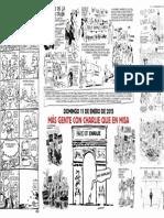 La página central de Charlie Hebdo