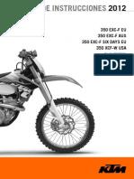Manual Ktm 350exc-f 2012