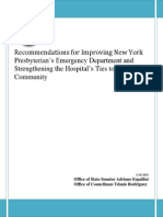 NY-Presbyterian Hearing Report