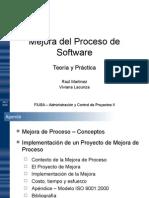 RMyA Mejora Del Proceso de Software