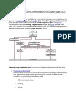 Diagram Alir Teknologi Proses Pengolahan Bijih Emas