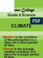Climate 2 Grade 9