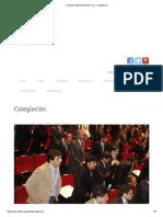 Consejo Departamental de Lima » Colegiación