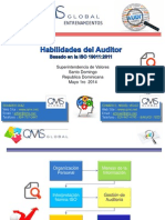 2014 Habilidades Auditores Internos ISO