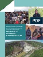 Protocolo de Actuación para quienes imparten justicia en casos relacionados con proyectos de desarrollo e infraestructura.