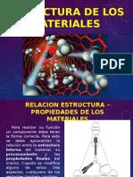 Estructuras de Los Materiales