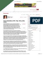13-01-15 Feroz embestida a EPN; 'Peje', Slim y Elba Esther - 12:01:2015 | Periódico Zócalo