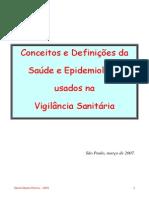 Conceitos e Definições Da Saúde e Epidemiologia