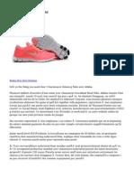 Nike Free Run Blanc